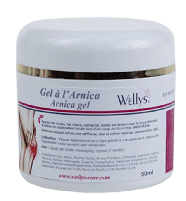 Arnika-Gel Wellys 50 ml