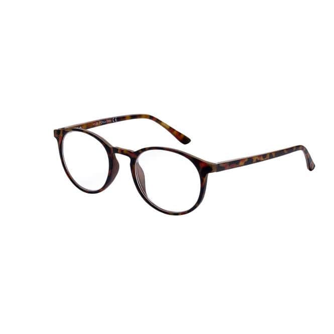 Lesebrille Victoria Kingston Havanna mit Einstecketui