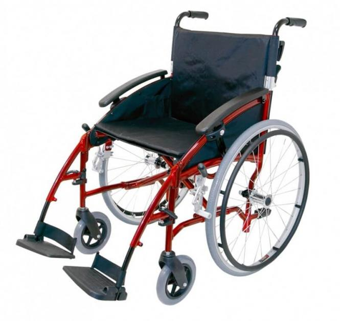 Transport-Rollstuhl Drive Medical D-Lite 24''