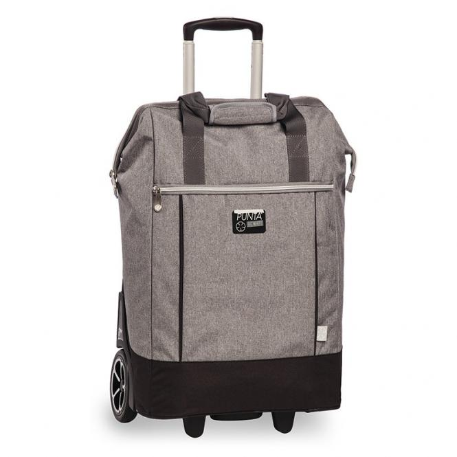 Einkaufstrolley Punta Big Wheel Grey