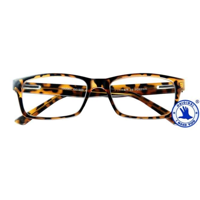 Lesebrille mit Etui Harry Havanna-Matt