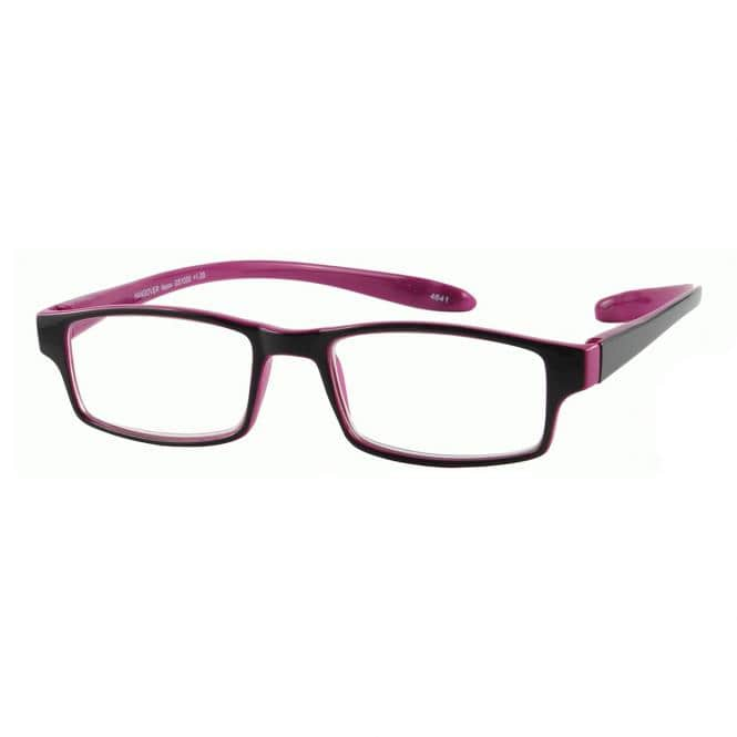 I Need You Lesebrille Hangover Neon mit Etui Pink