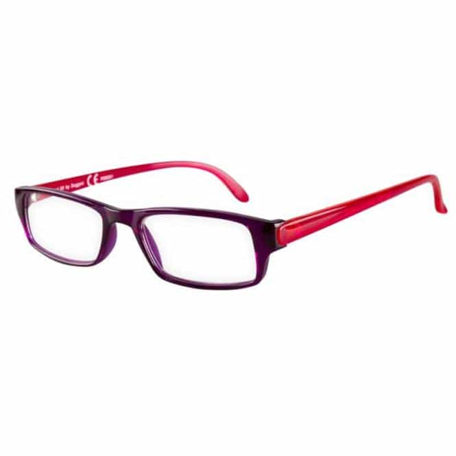 Lesebrille mit Etui Factory Lila/Pink