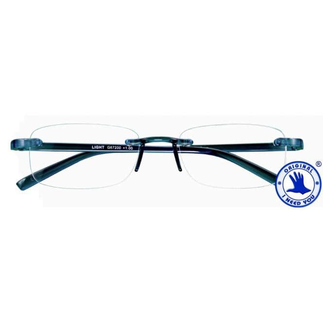 Lesebrille mit Etui Light Blau