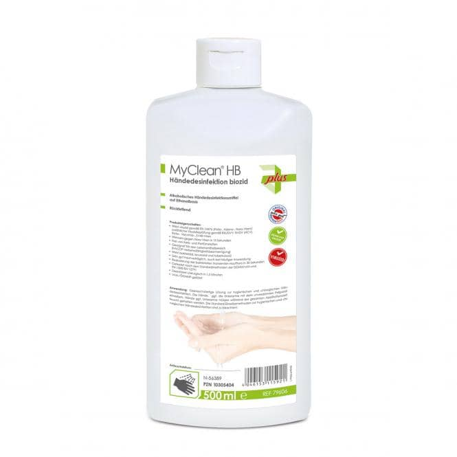 MaiMed MyClean HB Händedesinfektion biozid 500 ml