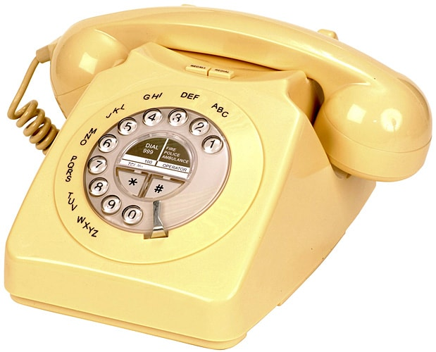 Seniorentelefon im Retrodesign Geemarc Mayfair