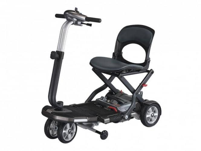 faltbarer extra leichter elektro scooter drive medical. Black Bedroom Furniture Sets. Home Design Ideas