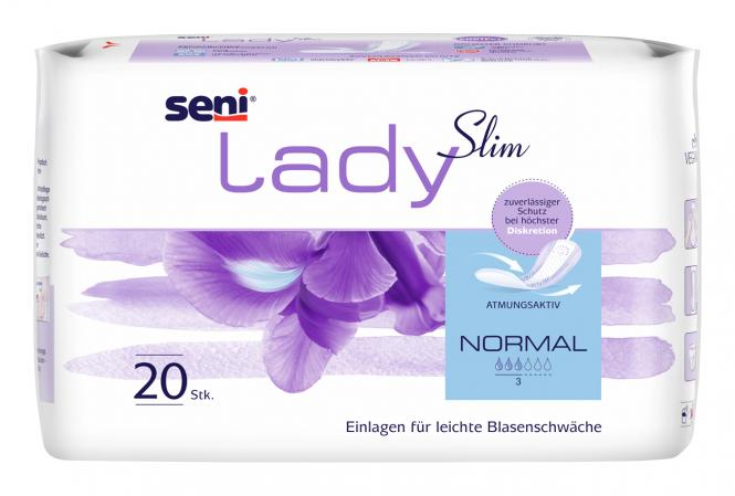 Inkontinenz-Einlagen SENI LADY Slim Normal