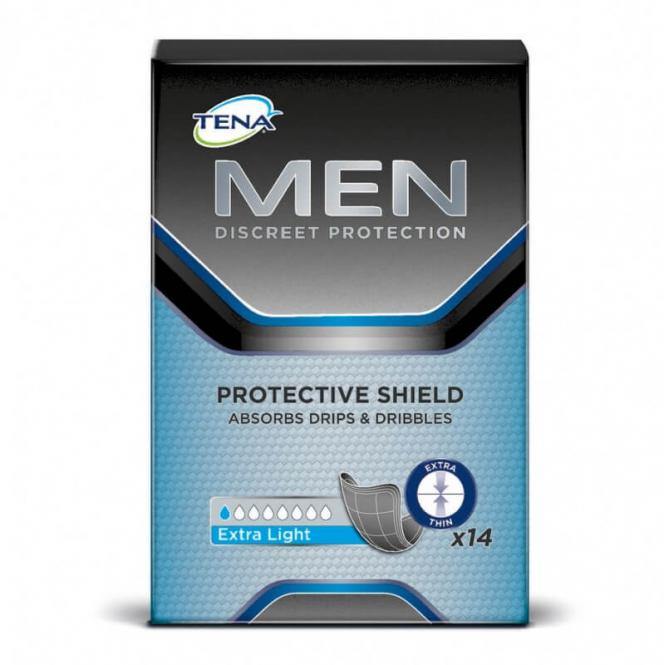 Inkontinenz-Einlage Tena Men Protective Shield Extra Light (14 Stück)