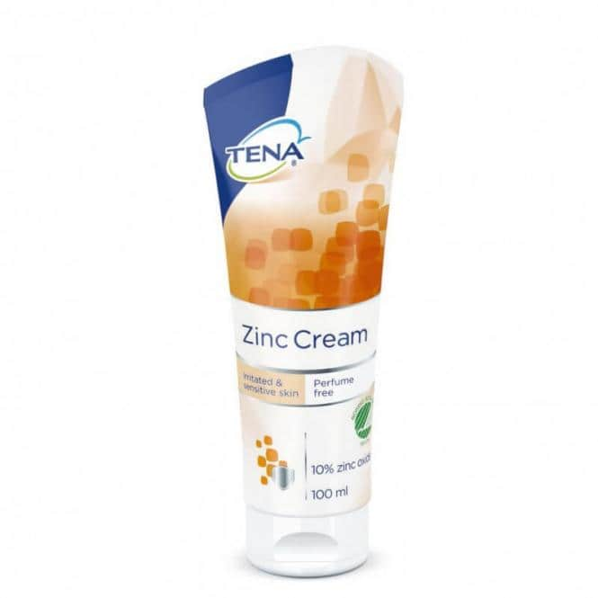 Pflegecreme Tena Zinc Cream (100 ml)