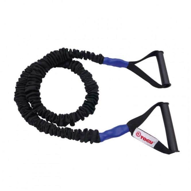 Widerstands-Trainer Theragym Tube Schwer Blau
