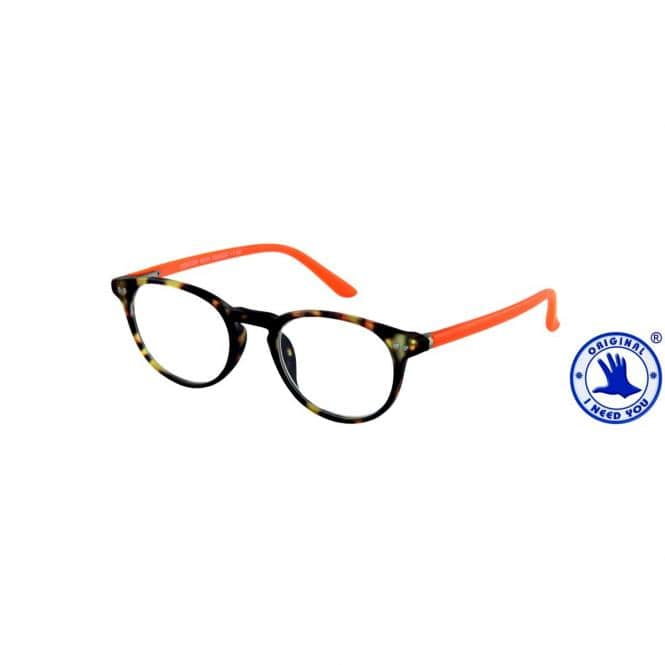 Lesebrille mit Etui Doktor New Havanna-Orange