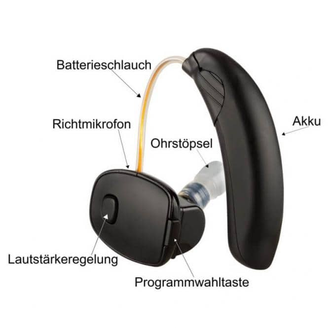 Hörgerät mit Bluetooth SOUNDWORLD solutions CS50