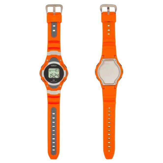 Vibrations-Armbanduhr re!me Orange-Grau
