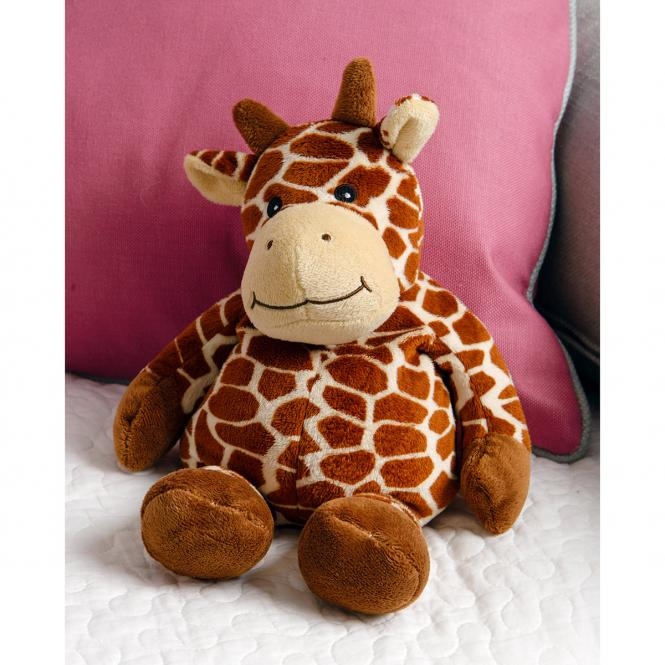 Wärme-Stofftier Warmies Beddy Bears Giraffe