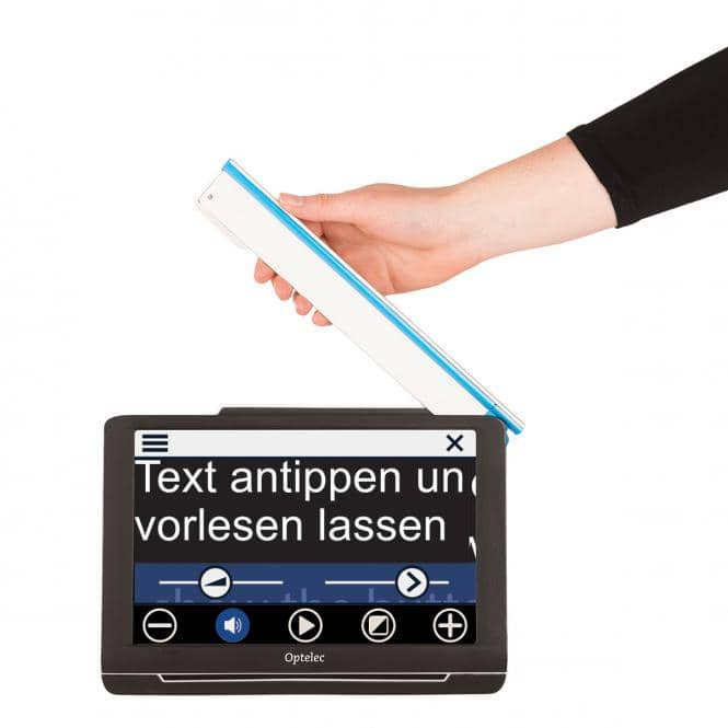 Optelec Compact 10 HD Speech Mobile Lesehilfe mit Sprachfunktion