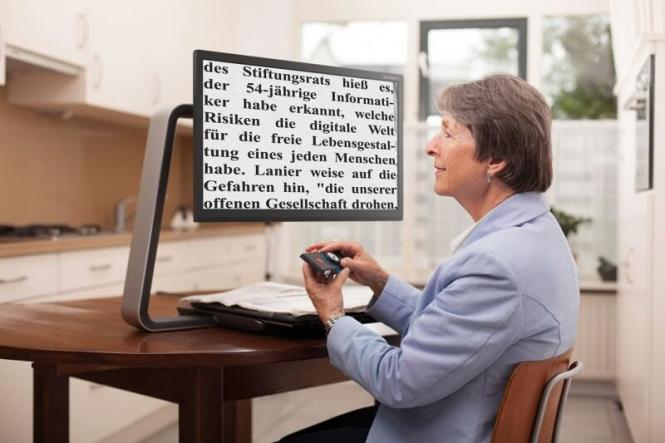 Bildschirmlesegerät Optelec Clearview C Speech 24