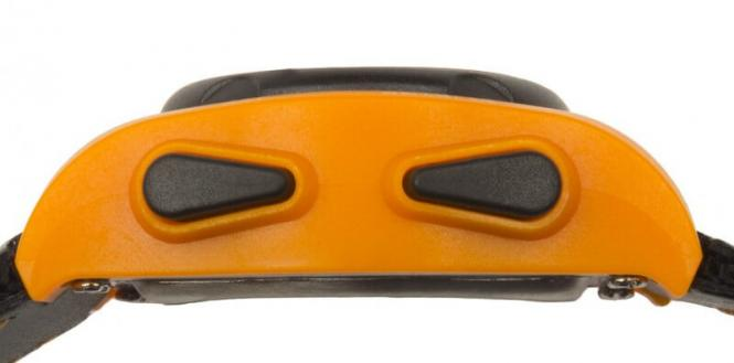 Vibrationsarmbanduhr VibraLITE Mini Black/Orange